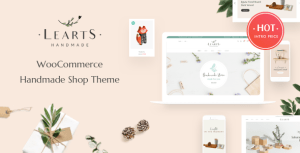 Handmade LeArts - Handmade Shop WooCommerce WordPress Theme
