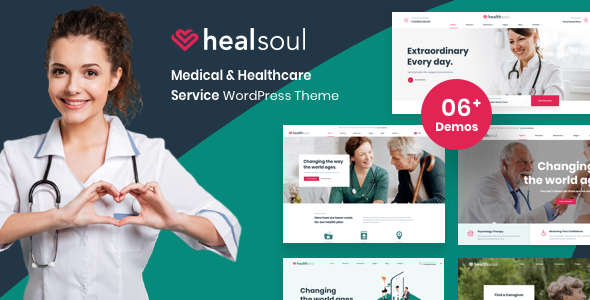 HealthCare Healsoul - Medical Care, Home Healthcare Service WP Theme