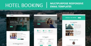 Hotel Booking - Multipurpose Responsive Email Template