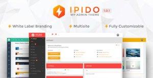 IPIDO-étiquette blanche WordPress thème admin