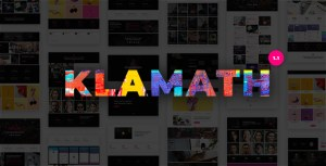 Klamath - Multipurpose Creative Portfolio WordPress Theme