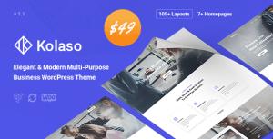 Kolaso - Modern Multi-Purpose WordPress Theme
