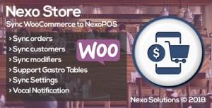 NEXO Store-Sync WooCommerce & NexoPOS