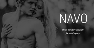 Navo - Stylish Directory Template for Model Agency