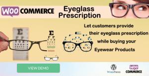 Prescription de lunettes WooCommerce