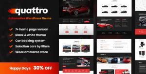 Quattro - Auto Booking & Automotive Theme