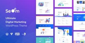 Seom - Digital Marketing & SEO WordPress Theme