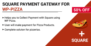 Square Payment Gateway for WPPizza
