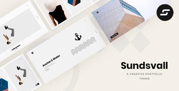 Sundsvall - Ajax Based Portfolio Theme
