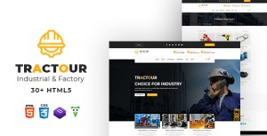 Tractour - Industrial/ Manufacturing HTML5 Template