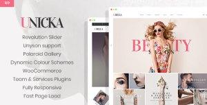 Unicka - Beauty And Fashion Salon WordPress Theme