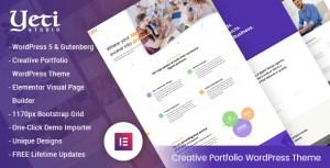 Yeti - Portfolio Responsive WordPress Theme