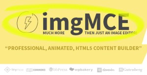 imgMCE - Professional, Animated Image Editor & HTML5 content builder