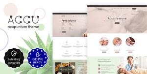 Accu - Acupuncture, Alternative Medicine Theme