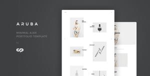 Aruba - Minimal Ajax Portfolio Template