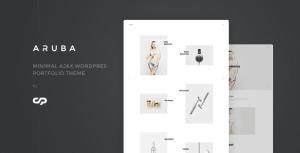 Aruba - Minimal Ajax WordPress Portfolio Theme