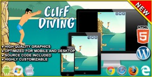 Cliff Diving - HTML5 Skill Game