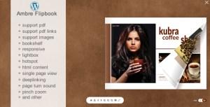 Flipbook WordPress Plugin Ambre