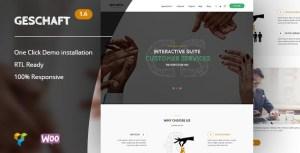 Geschaft - Business WooCommerce WordPress Theme