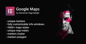 Google Maps for Elementor | CreaMaps