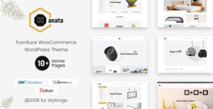 Hanata - Marketplace WooCommerce Furniture Theme