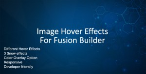 Image Hover Effects for Fusion Builder