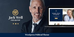 Jack Well | Elections Campaign & Political WordPress Theme
