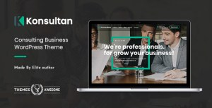 Konsultan | Consulting Business WordPress Theme