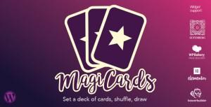 MagiCards - decks of cards to shuffle   WP plugin