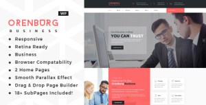 Orenburg - Business Consulting WordPress Theme