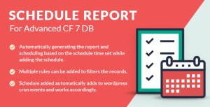 Schedule Report For Advanced CF7 DB