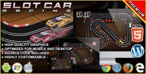 Slot Car Racing - HTML5 Racing Game