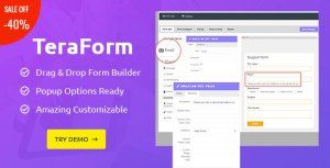Tera Form  - WordPress Contact Form Builder Plugin