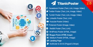 TitanicPoster - Social Media Posting Solution