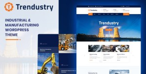 Trendustry - Industrial & Manufacturing WordPress Theme
