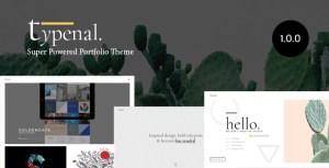 Typenal - Portfolio Creative WordPress Theme