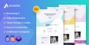 Acuvea - Responsive Multipurpose HTML Template