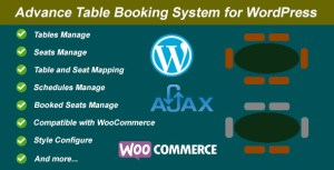 Advance Table Booking for WordPress and WooCommerce