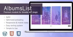 AlbumsList v3.2 | Gallery Module for Gmedia plugin