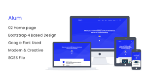 Alum - Responsive HTML Blog Site Template