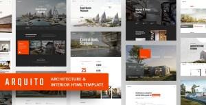 Arquito - 3D Architecture & Interior HTML Template