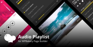 Audio Playlist Addons for WPBakery Page Builder (Visual Composer)