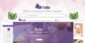 Bella - Spa & E-commerce HTML Template