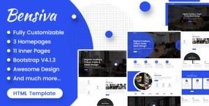 Bensiva - Creative Business Agency Html Template