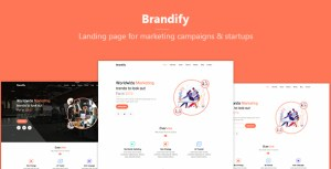 Brandify - Marketing Landing Page Template