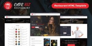Cafe Biz | Restaurant & Food HTML Template