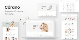 Corano – Jewellery eCommerce Bootstrap 4 HTML Template