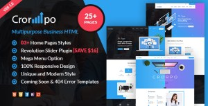 Crorpo | Business  Multi-Purpose HTML5 Template