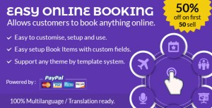 Easy online booking