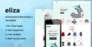 Eliza - Fashion HTML Template